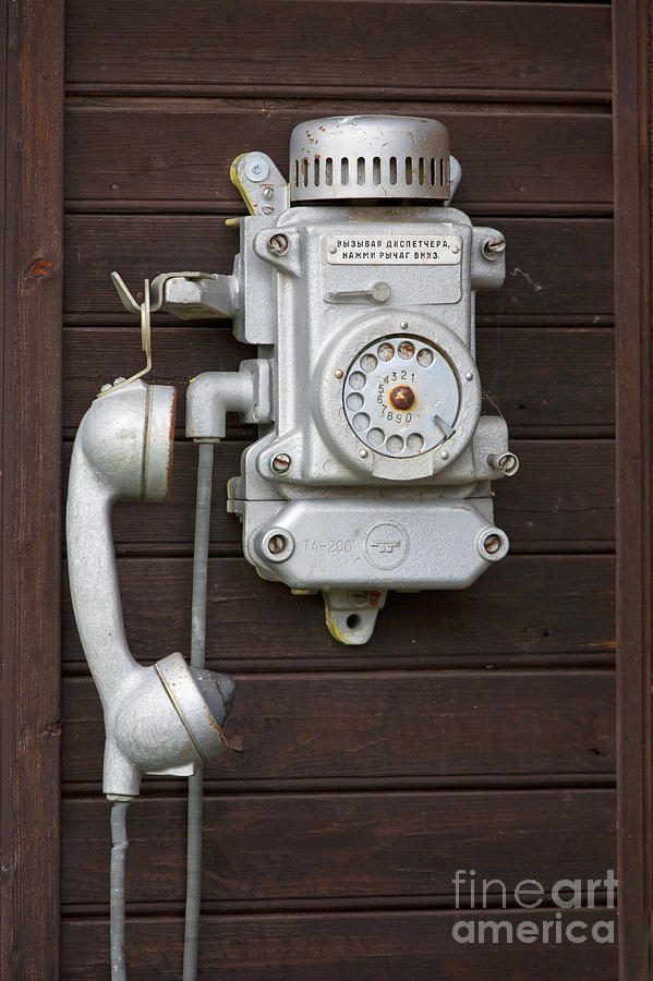 Antique Telephone Photograph  - Antique Telephone Fine Art Print