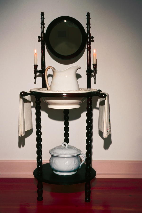 Antique Wash Stand Photograph