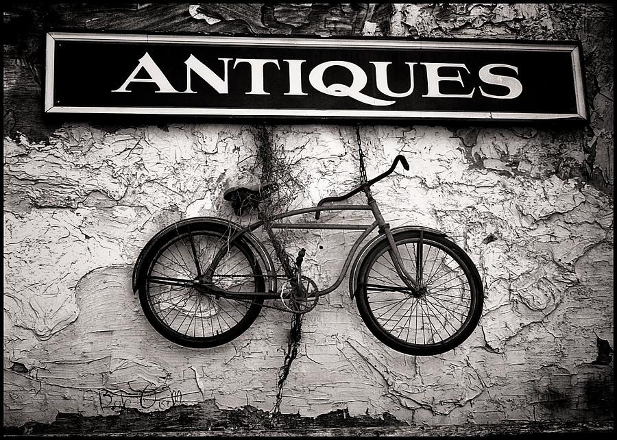 Antiques And The Old Bike Photograph