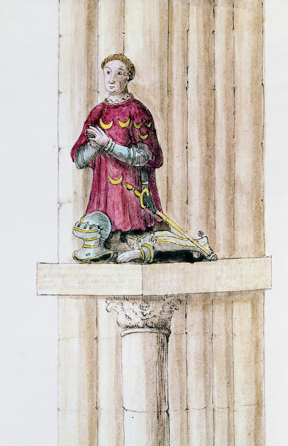 Antoine Des Essarts Painting