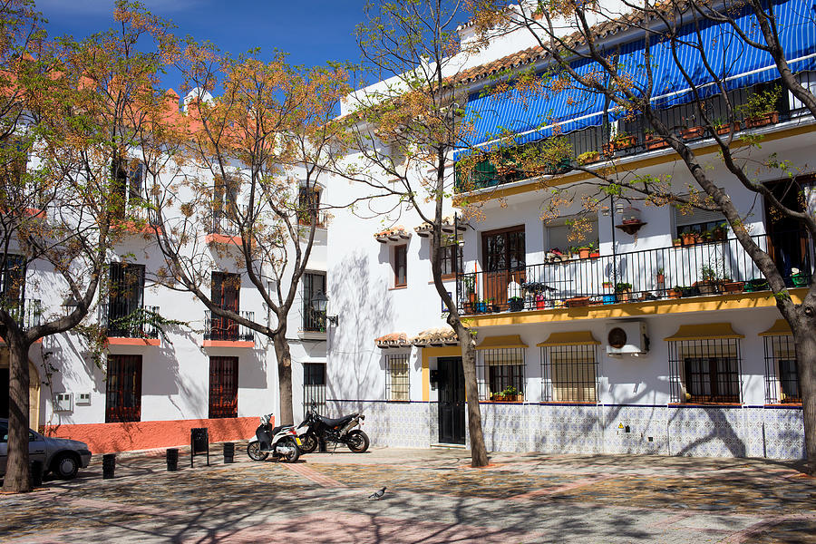 Apartment Houses In Marbella Photograph