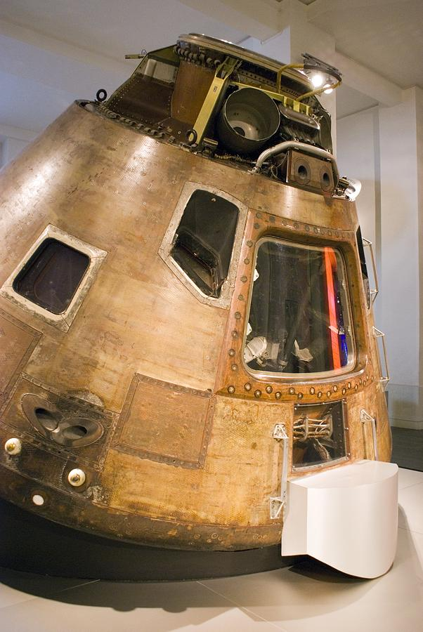 Apollo 10 Command Module Photograph by Mark Williamson