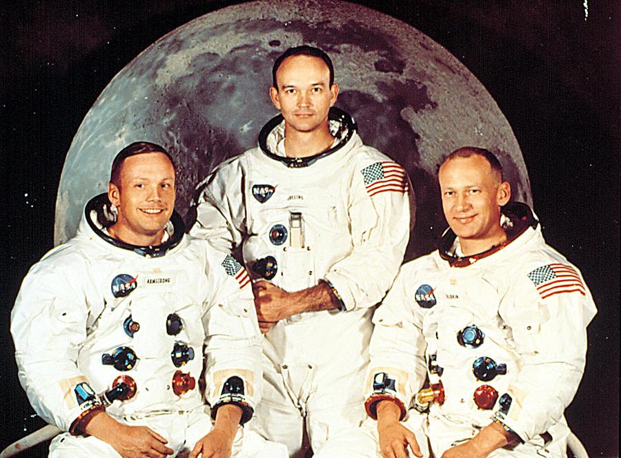 Apollo 11 Crew, Neil Armstrong, Michael Photograph