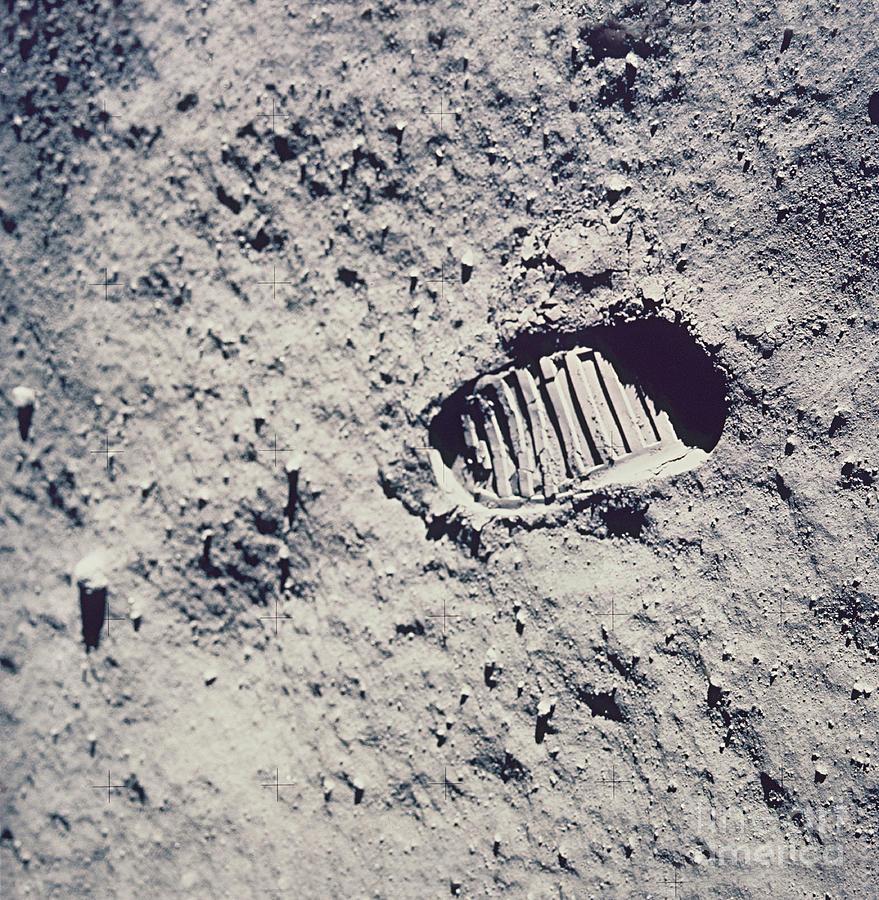 nasa moon footprint - photo #6