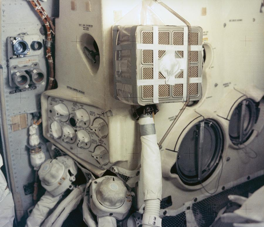 Apollo 13 Lunar Module And The Mailbox Photograph