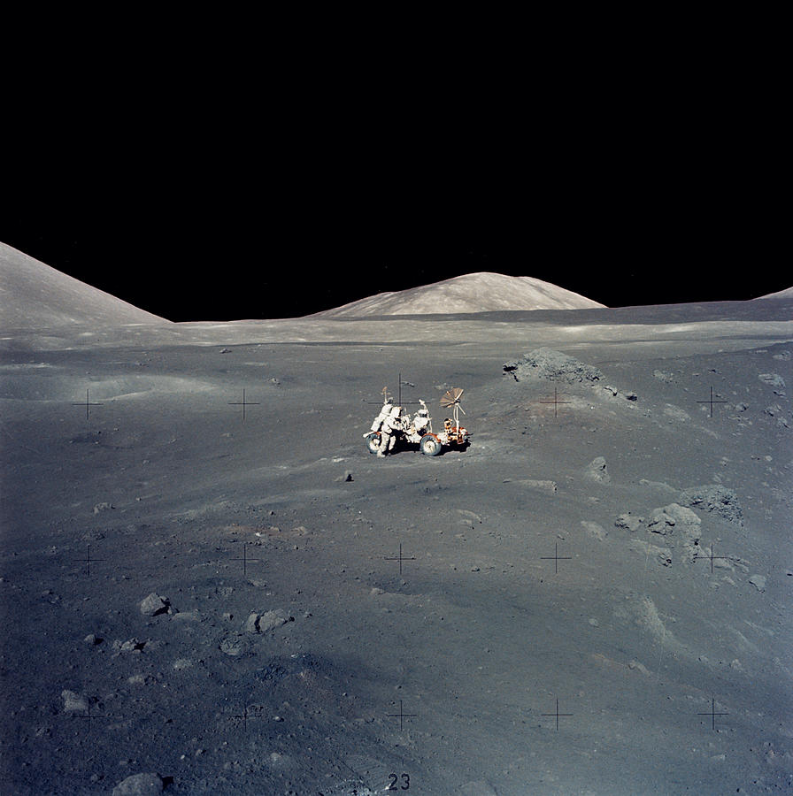 Apollo 17 Astronauts Photograph by Nasavrs