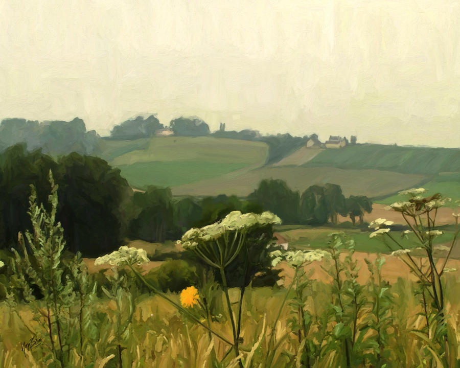 Apostelhoeve In The Jeker Valley Painting