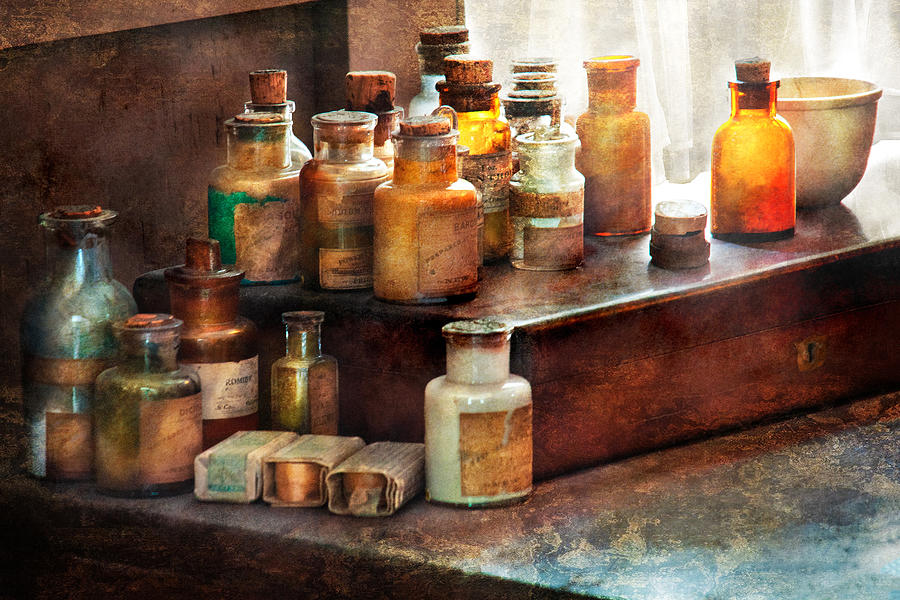 Apothecary - Chemical Ingredients  Photograph