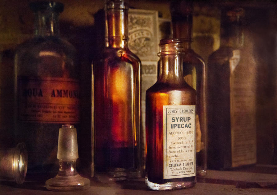 Apothecary - Domestic Remedies  Photograph