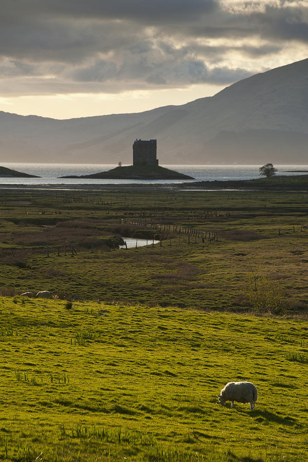 Photography Photograph - Appin, Argyll & Bute, Scotland by Axiom Photographic