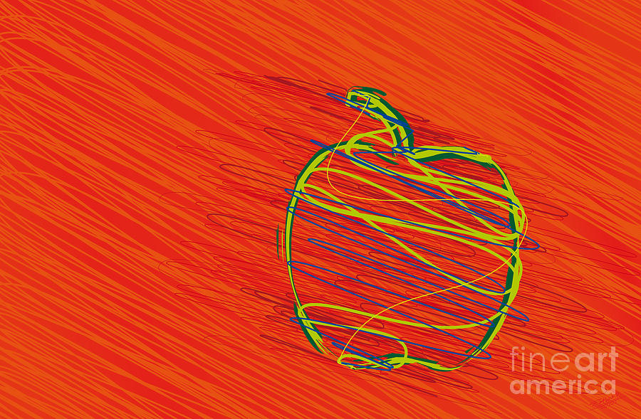 Apple-01 Drawing