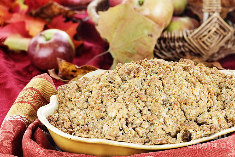 Apple Crisp Photograph  - Apple Crisp Fine Art Print