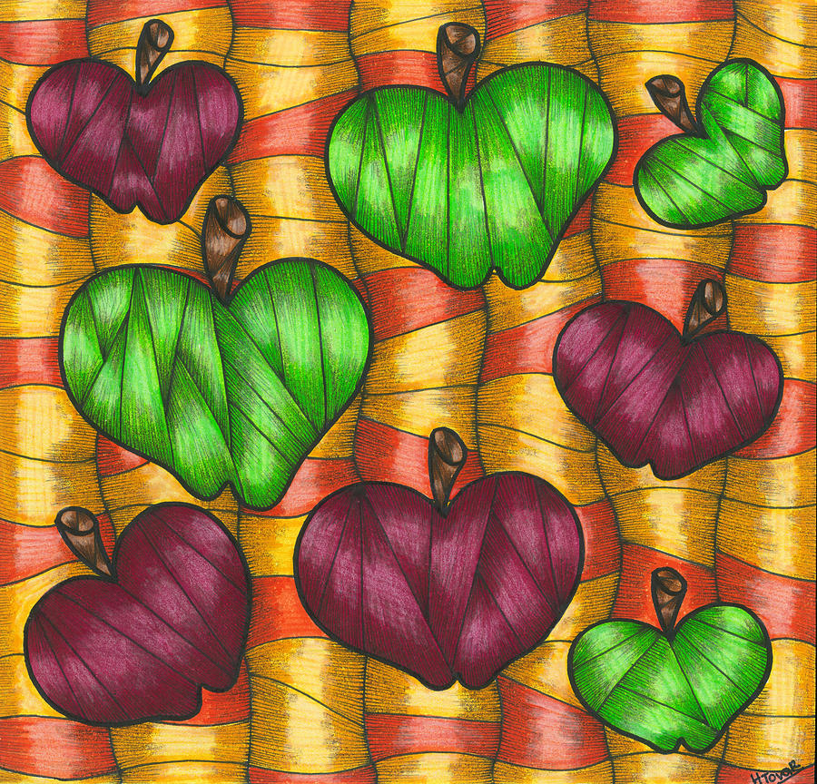 Apples Drawing