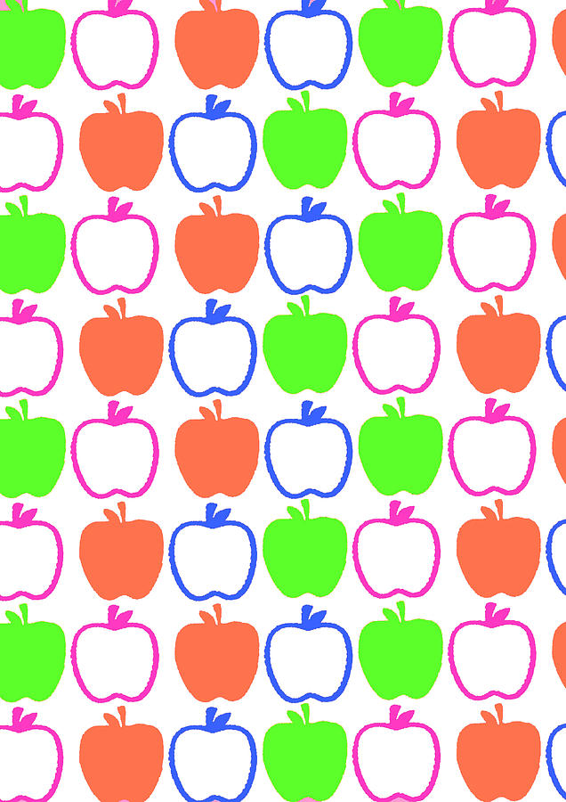 Apples Digital Art  - Apples Fine Art Print