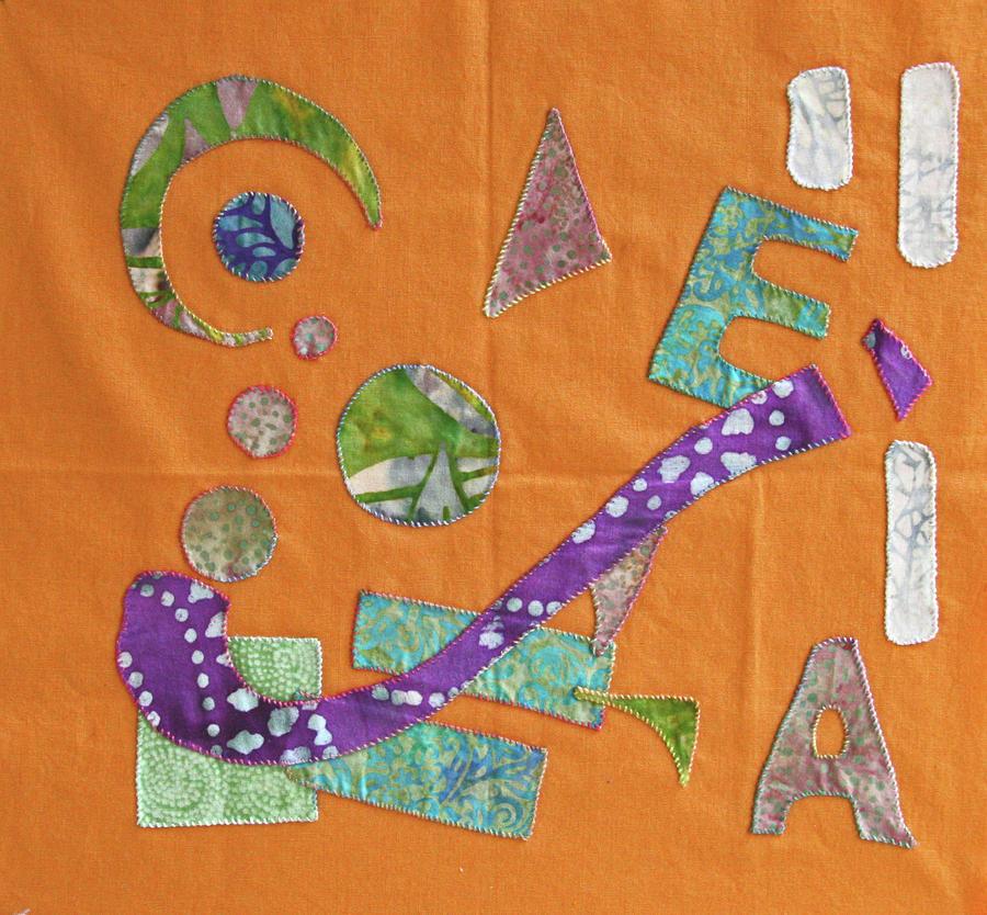 Applique 10 Tapestry - Textile