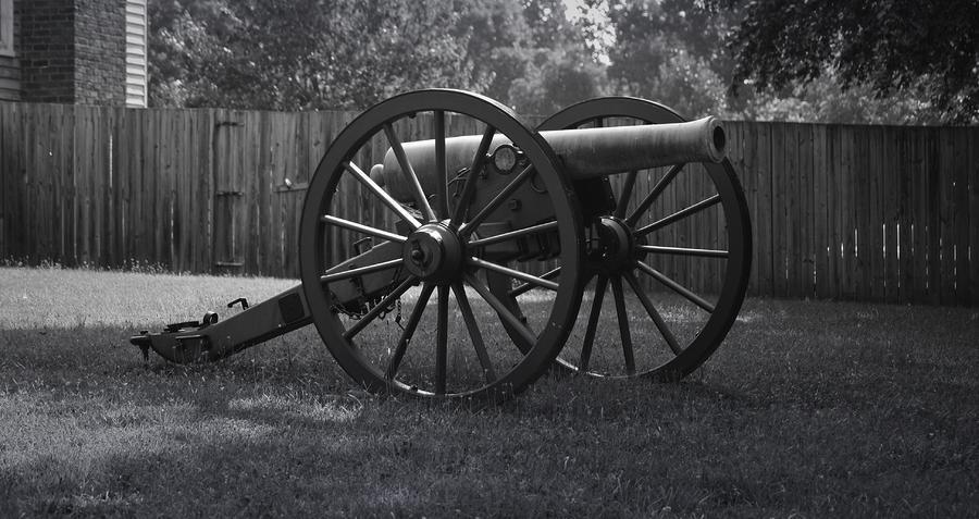 Appomattox Cannon Photograph