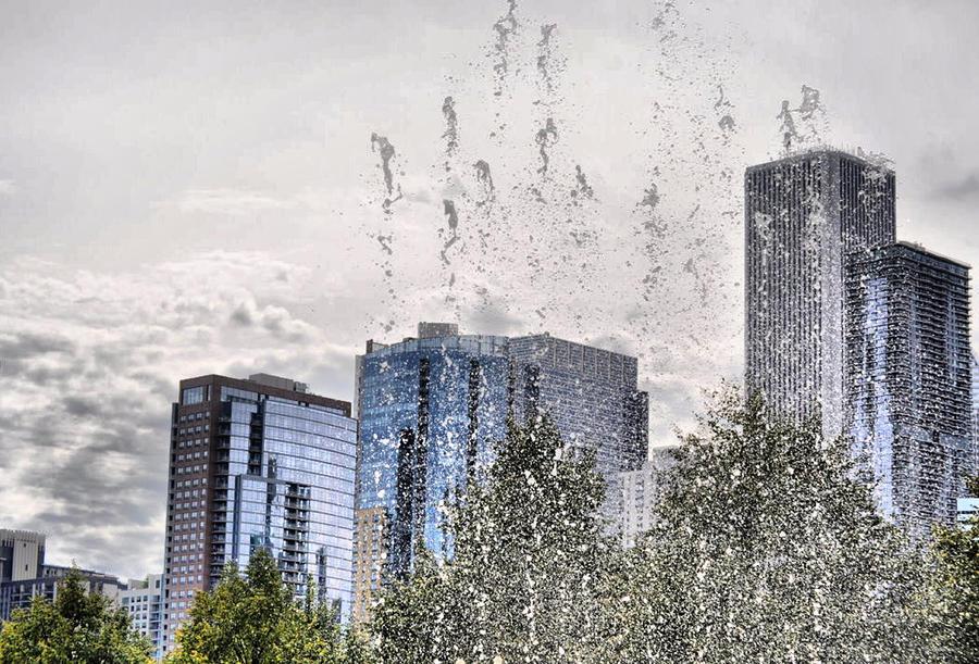 Aqua Chicago  Photograph