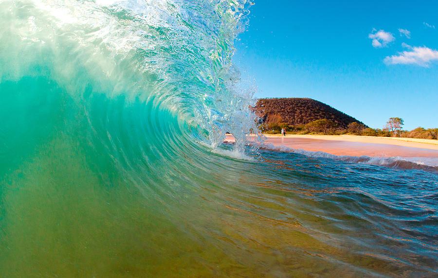 Aqua Swirl Photograph