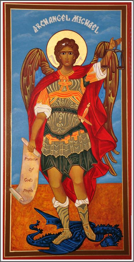 Arch Angel - St Michael Photograph