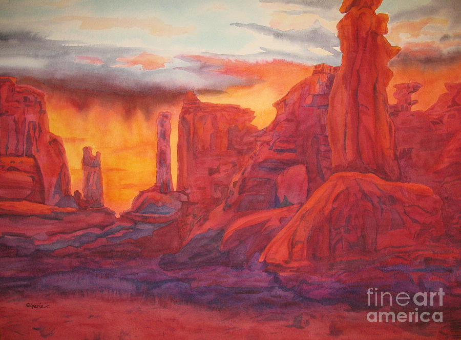 Arch Elements In Time Painting