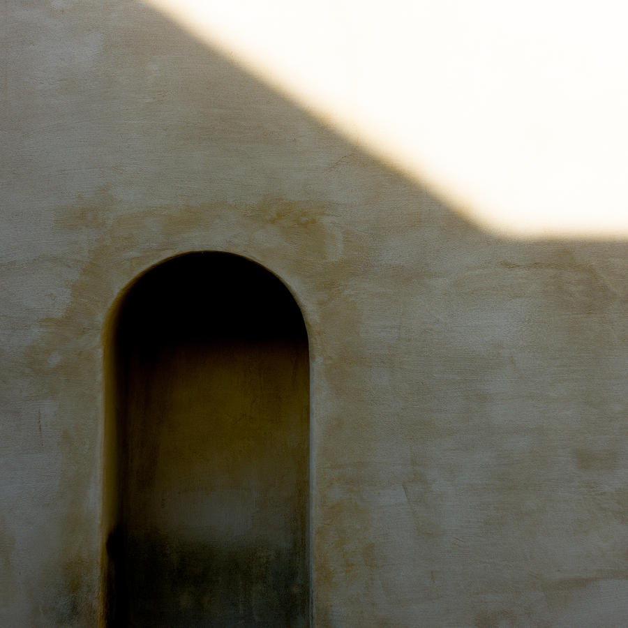 Arch In Shadow Photograph