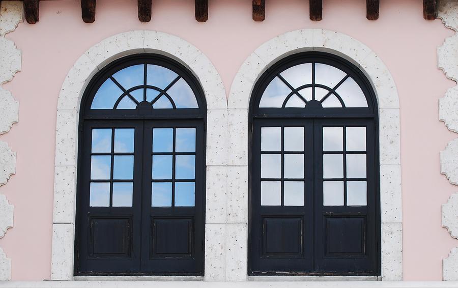 Arch Windows Photograph
