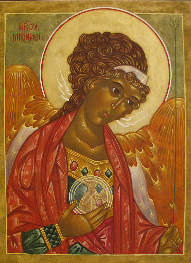 Archangel Michael Painting