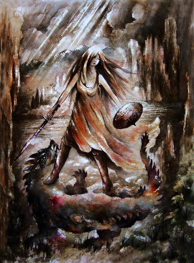 Archangel Painting