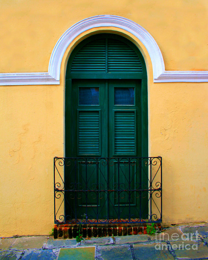 Arched Doorway Photograph