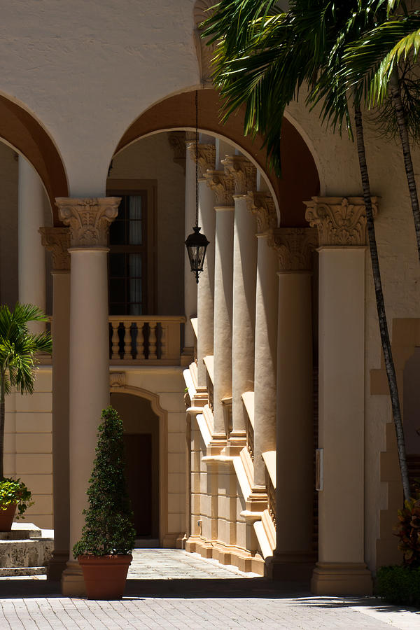 Arches And Columns At The Biltmore Hotel Photograph By Ed
