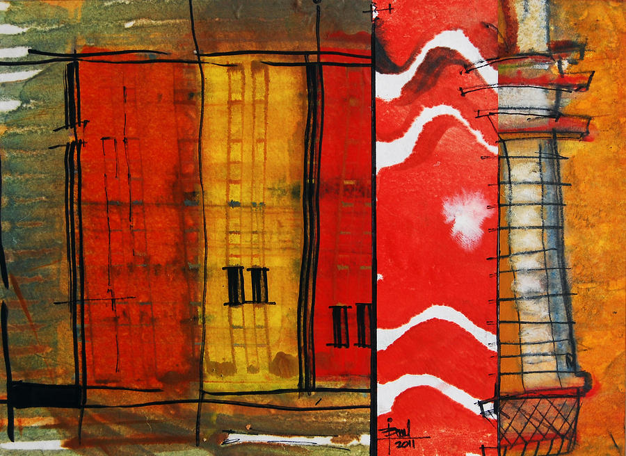 Architecture 107 Mixed Media