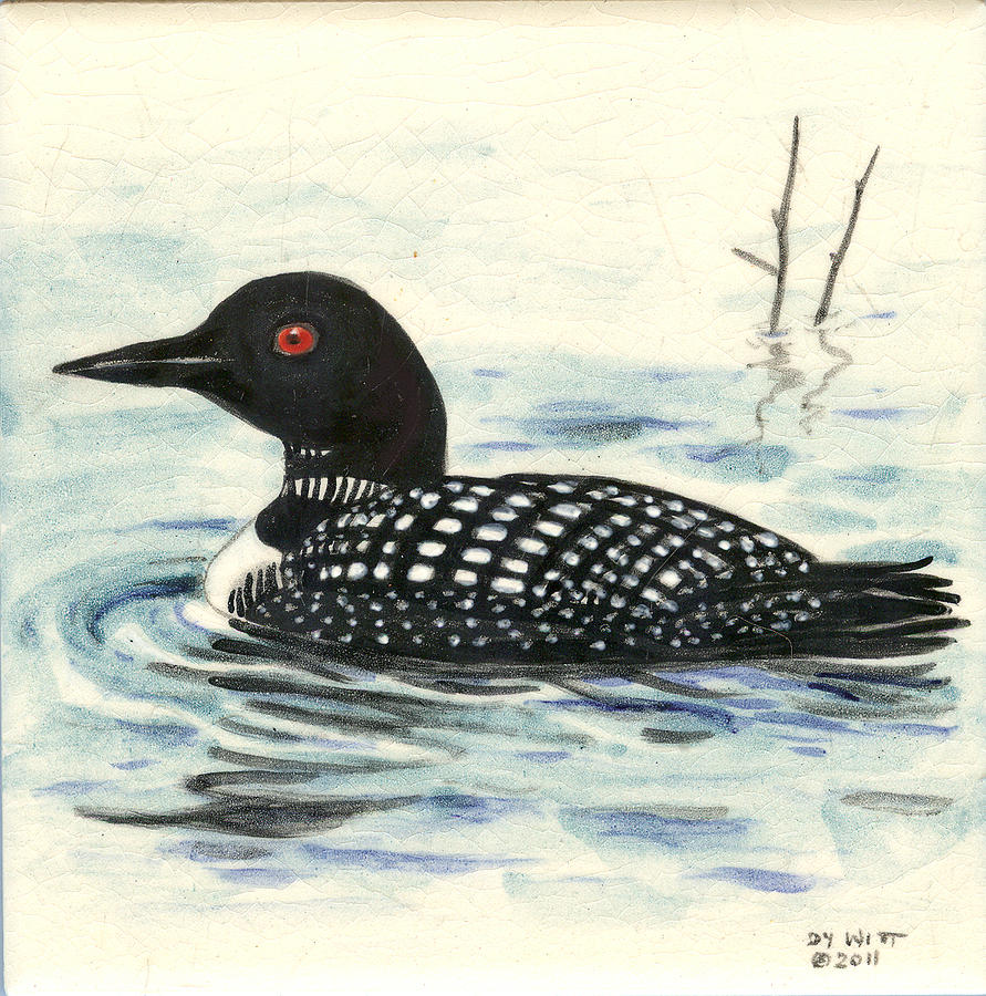 Loon painting - photo#16