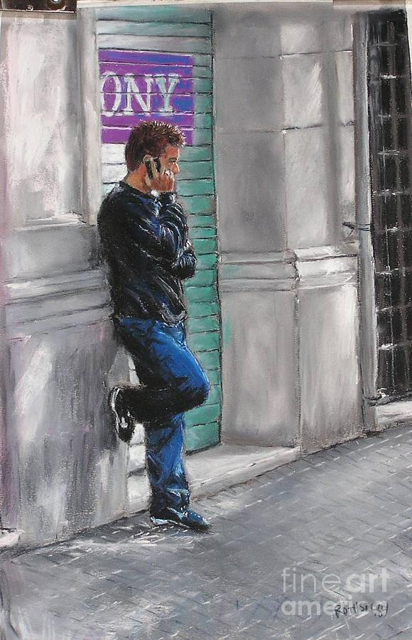 Madrid Pastel - Are You There by Barry Rothstein