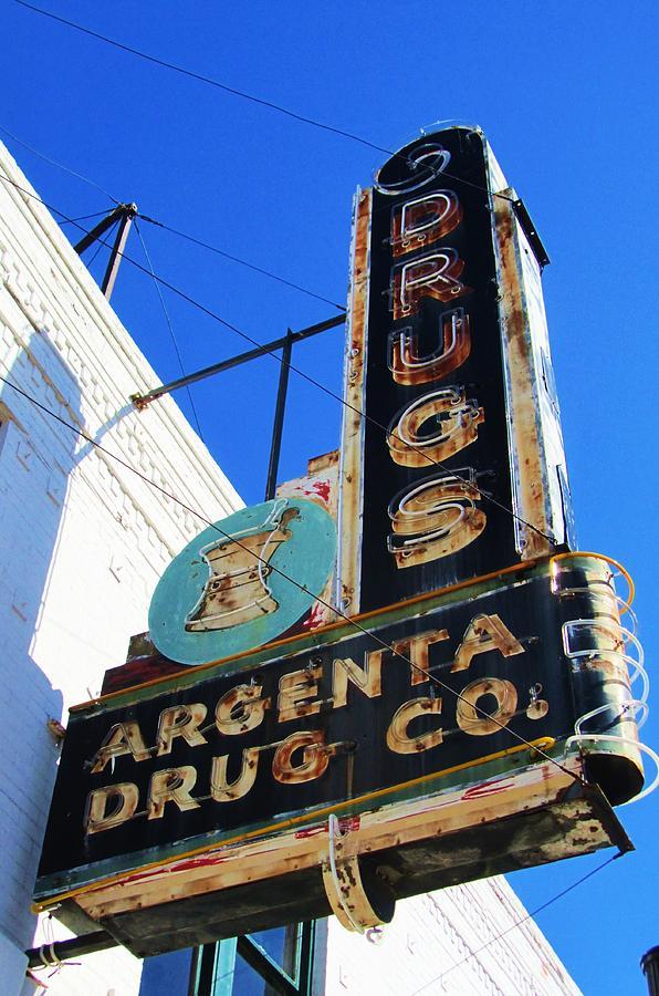 Argenta Drug Co. Photograph