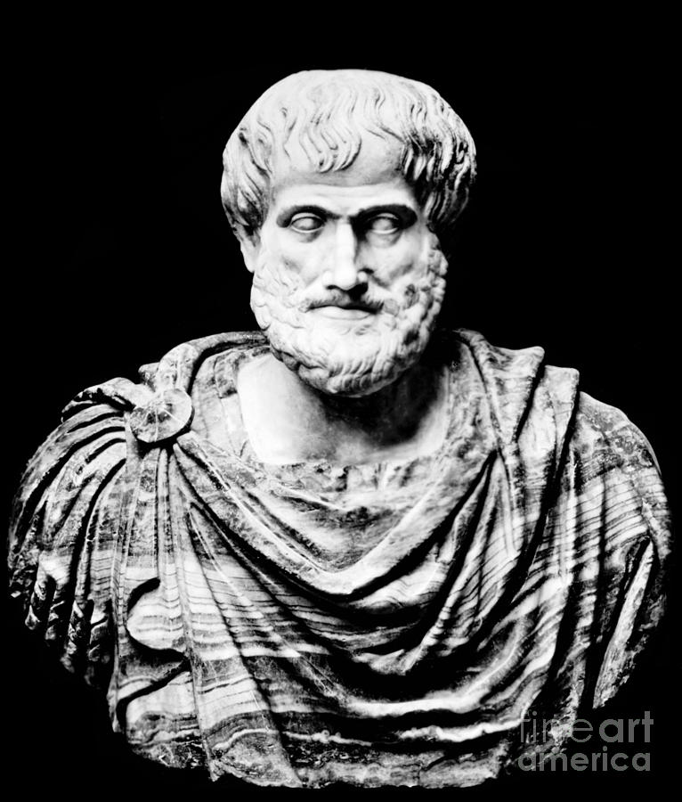 History Photograph - Aristotle, Ancient Greek Philosopher by Omikron