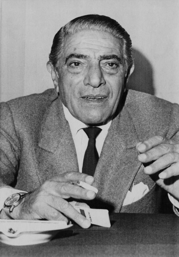 Aristotle Onassis, Circa Early 1970s Photograph