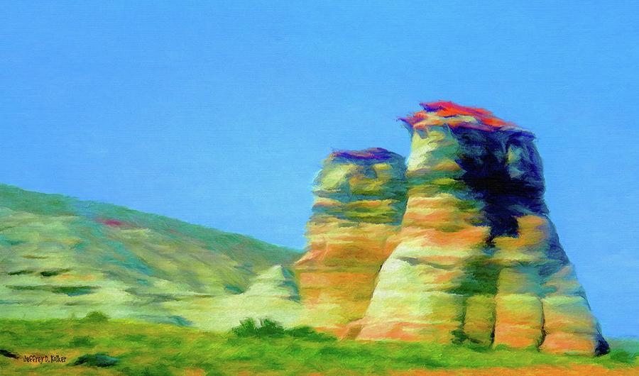 Arizona Spring Painting  - Arizona Spring Fine Art Print