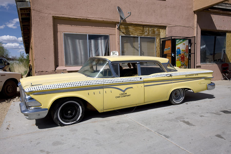 Arizona: Taxi, 2009 Photograph