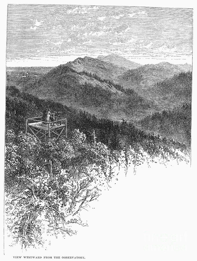 1878 Photograph - Arkansas: Mountains, 1878 by Granger