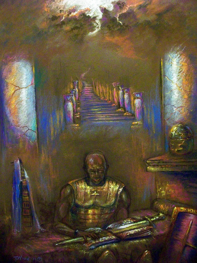 Heaven Pastel - Armor Of God by Tommy  Winn