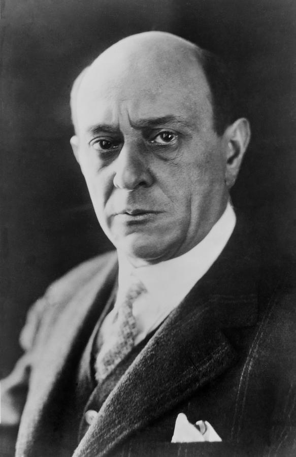 Arnold Schoenberg 1874-1951, Austrian Photograph