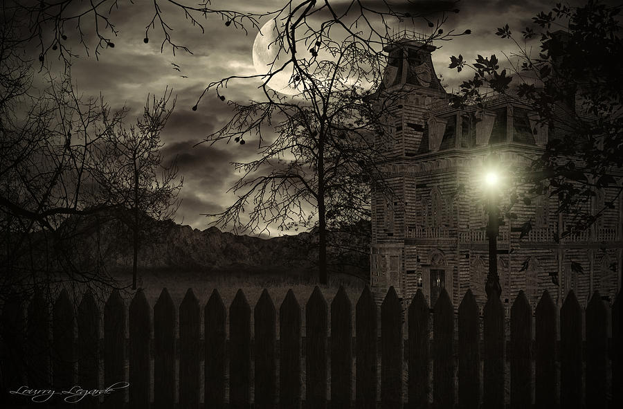Haunted House Photograph - Arrival by Lourry Legarde