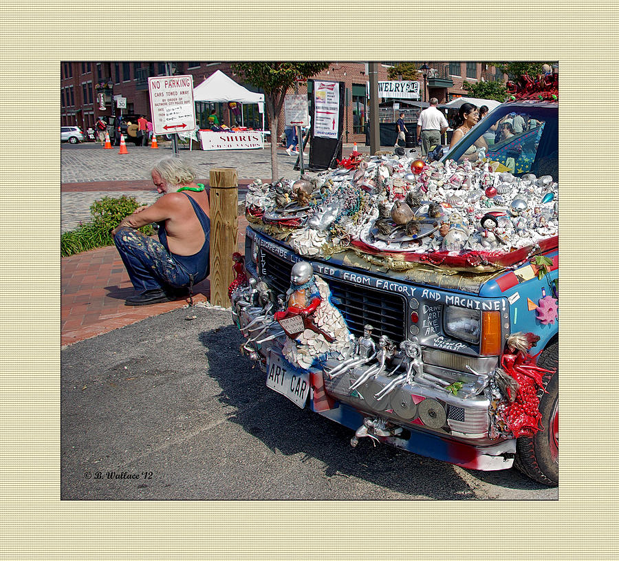 Art Car Photograph  - Art Car Fine Art Print