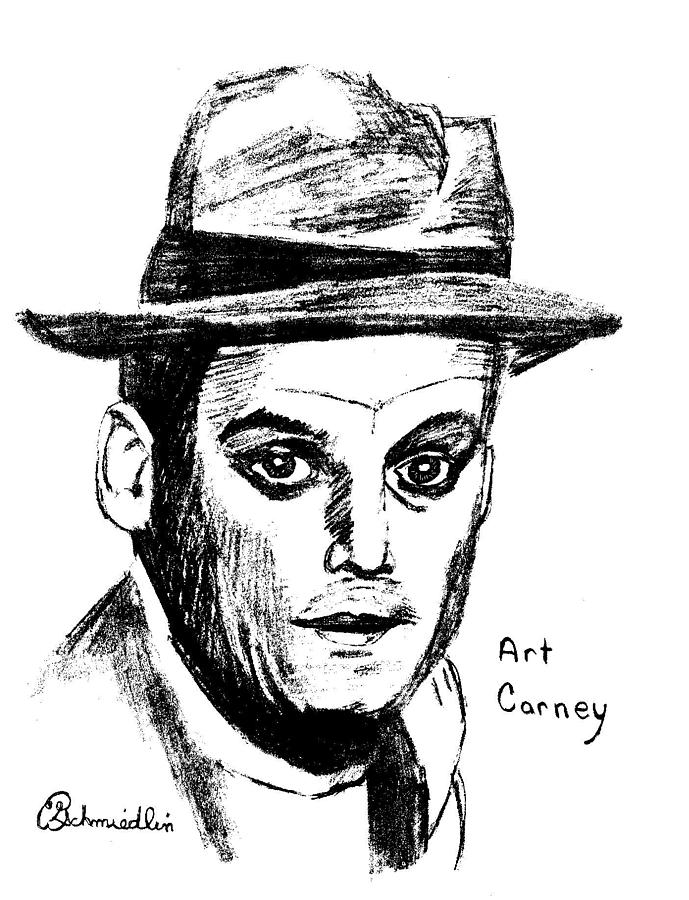 Art Carney Drawing