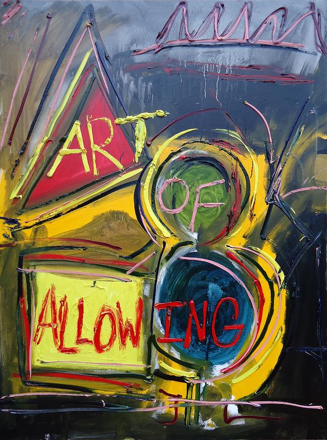 Greenworldalaska Painting - Art Of Allowing by Cory Green