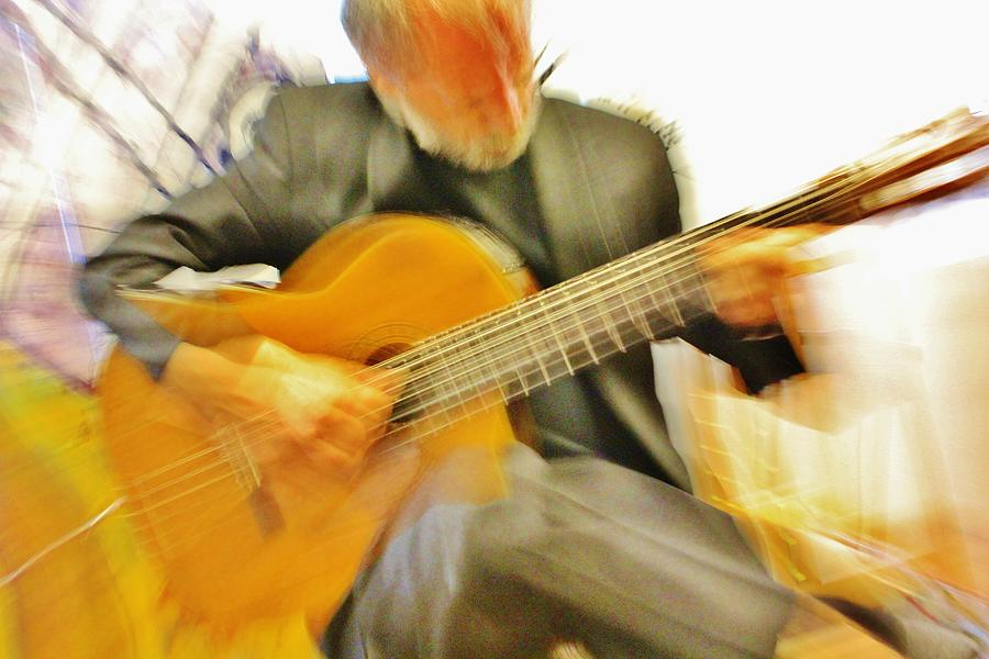 Art Of Music And Colour Photograph