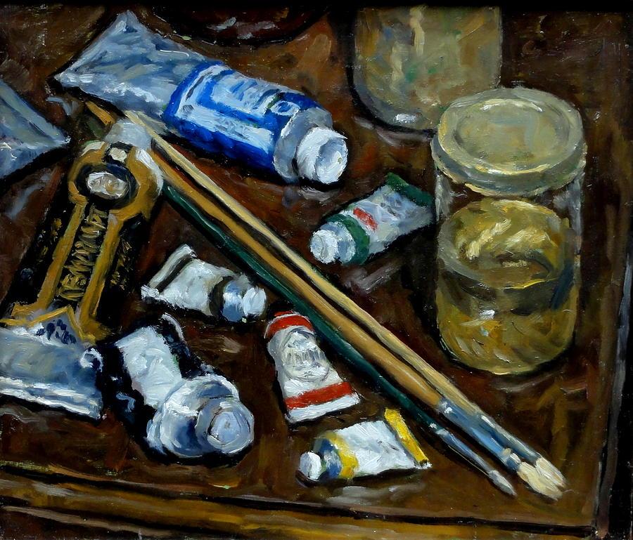 Art Tools Painting