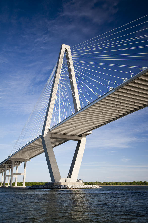 Arthur Ravenel Jr. Bridge In Charleston South Carolina Photograph  - Arthur Ravenel Jr. Bridge In Charleston South Carolina Fine Art Print