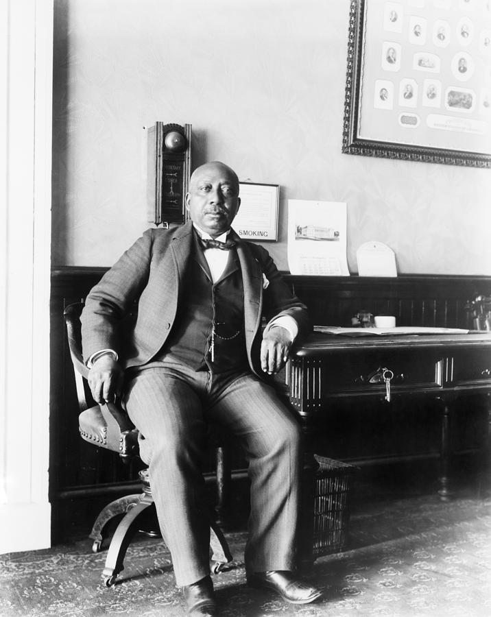 History Photograph - Arthur Simmons, African American White by Everett