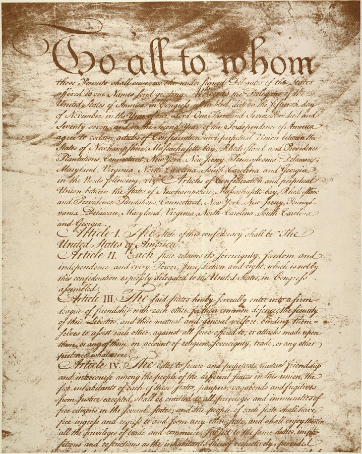 from 1781 to 1789 the articles To view georgia's constitution of 1789, georgia archives article i section 1  the legislative power shall be vested in two separate.